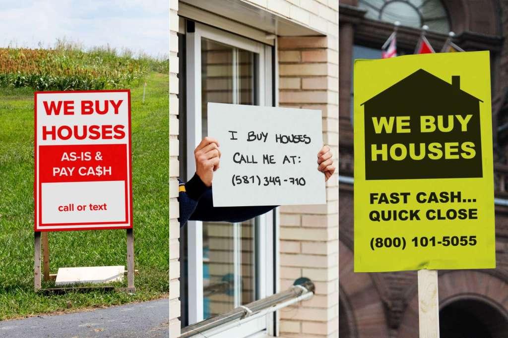 We Buy Houses - Sellers Beware